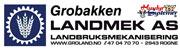 Grobakken Landmek Logo