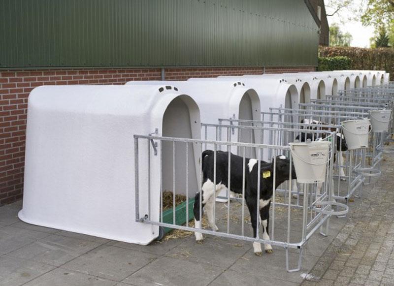 Grobakken Landmek forhandler CalfOtel kalvehytter